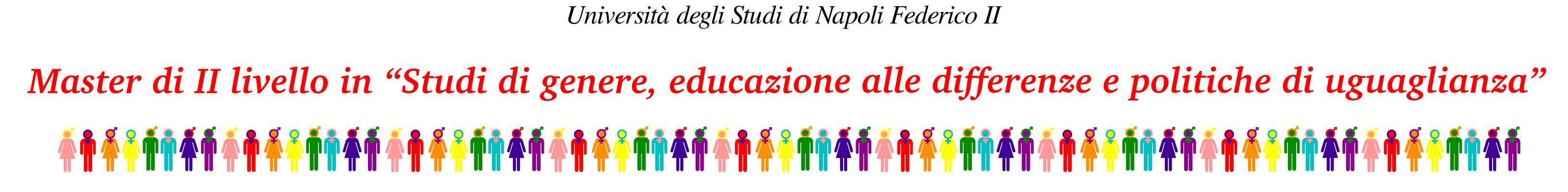 """Master di II livello in """"Studi di genere, educazione alle differenze e politiche di uguaglianza"""""""